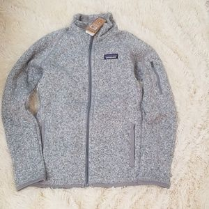 Patagonia better sweater jacket coat xs nwt